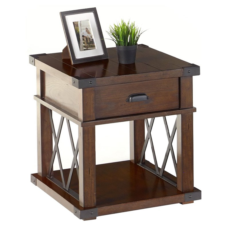 Progressive Furniture Landmark End Table