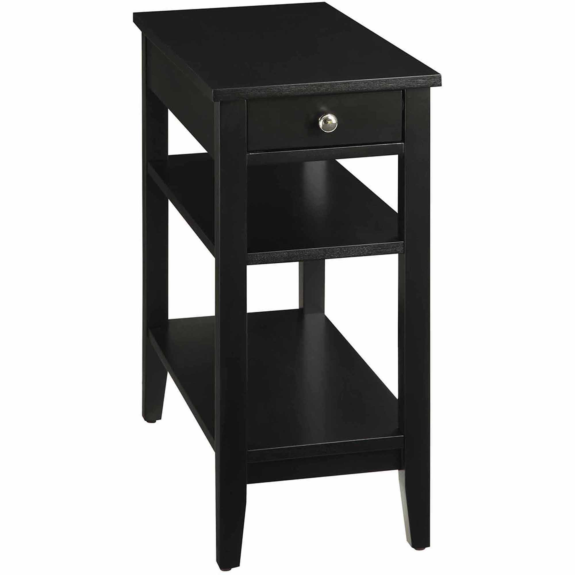 Tall End Tables With Drawers