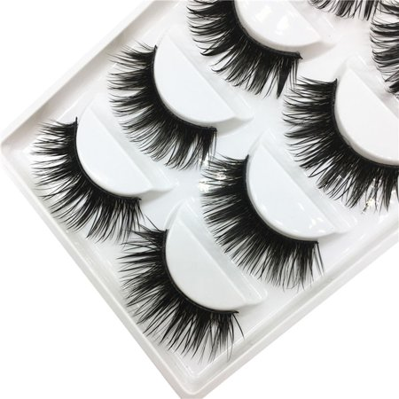 Luxury 3D False Lashes Fluffy Strip Eyelashes Long Natural Party
