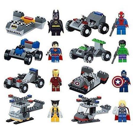 Super Mini Twist (Super heros Minifigures with Vehicles )