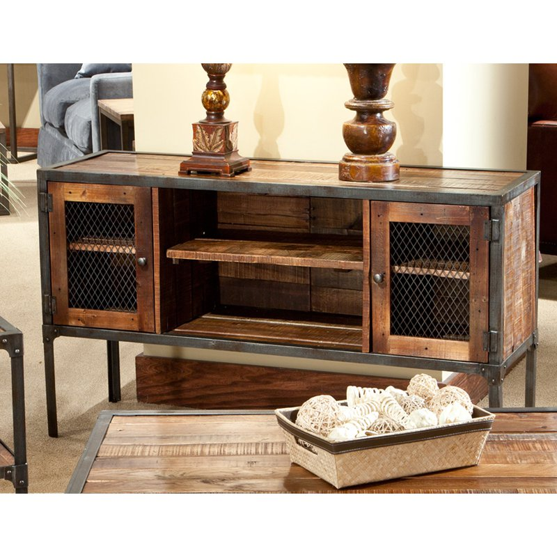 Emerald Home Laramie Sofa Table with Storage