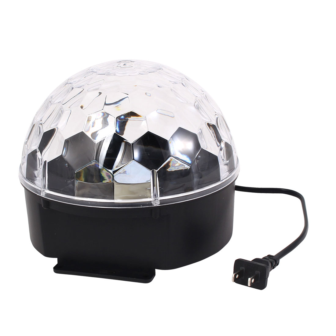 AC100V-240V US Plug Disco Lighting RGB Crystal LED Magic Ball Light Digital Lamp by Unique-Bargains