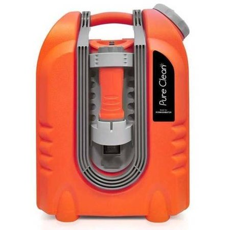 Pyle Pure Clean Multi-Function Portable Spray Pressure Washer Cleaning System, Power Bank, Flashlight (for Outdoor, Camping, Fishing, Pet Cleaning, etc.)