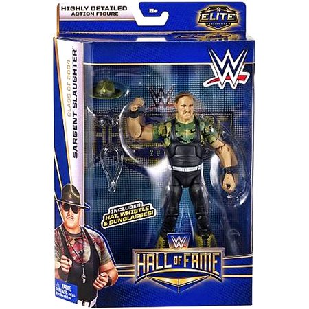 Sergeant Slaughter Action Figure Hat, Whistle & Sunglasses