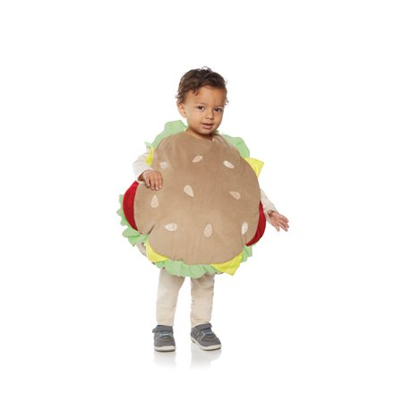Unisex Yummy Adorable Toddler Hamburger With All The Fixings Halloween Costume](Adorable Toddler Costumes)