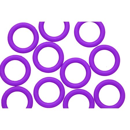 25pcs Grape O-Ring For Licorice Leather 2x12mm/pack (4-pack Value Bundle), SAVE $3](Grape Licorice)