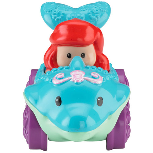 Fisher-Price Little People Disney Wheelies Vehicle, Ariel