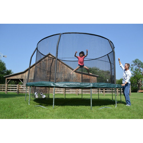 Jumpking JumpPOD 14' Trampoline with Enclosure
