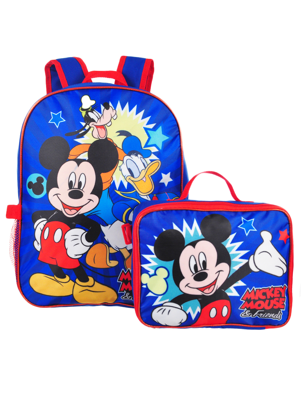 Disney Mickey Mouse Backpack with Insulated Lunchbox