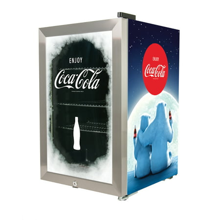 Nostalgia BC24COKE Coca-Cola 80-Can Limited Edition Commercial Beverage Cooler ()