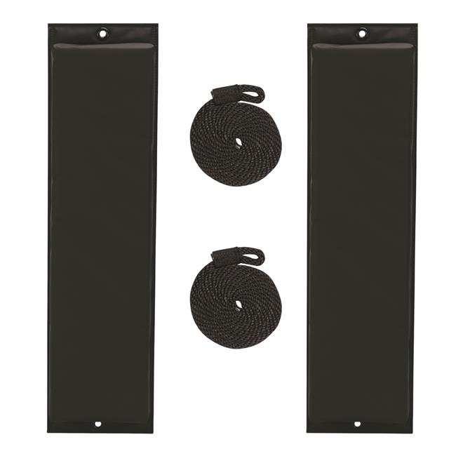 Extreme Max RT-HH-12BLK Boat Tector 26 in. Flat Fender Value Pack - Black - image 1 de 1