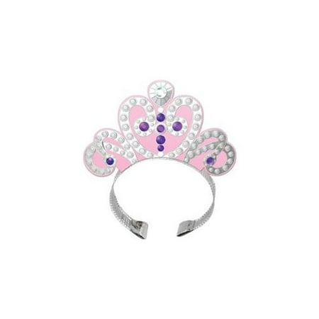 Sofia Sophia the 1st Birthday First Princess Party Tiara 4 ct Tiaras Pink - Sofia The First First Birthday