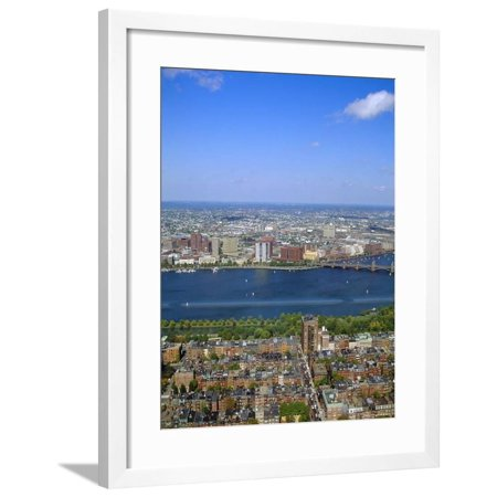 Charles River, Back Bay Area, Boston, Massachusetts, USA Framed Print Wall Art By Fraser Hall Boston Back Bay Area