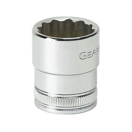 GearWrench 80204 1/4' Drive 12 Point Standard Socket,