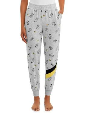 Peanuts Women's and Women's Plus Snoopy Sleep Jogger Pants