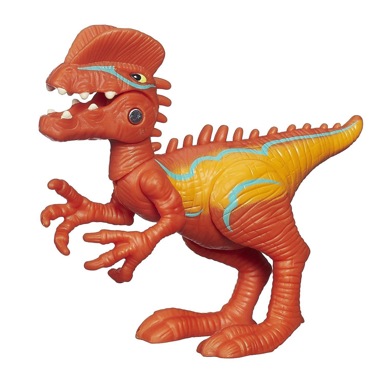 Heroes Jurassic World Chomp 'n Stomp Dilophosaurus Figure..., By Playskool Ship from US by