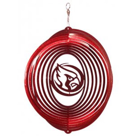 Iowa State Cyclones CYCLONES Circle Swirly Metal Wind Spinner - image 1 of 1