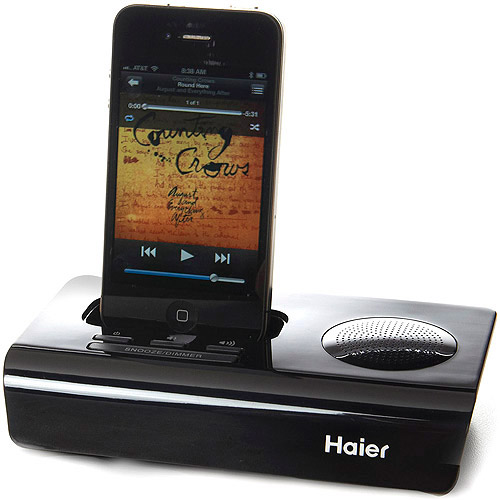 Haier Rise iPod®/iPhone® App-driven Clock Radio and Docking Station