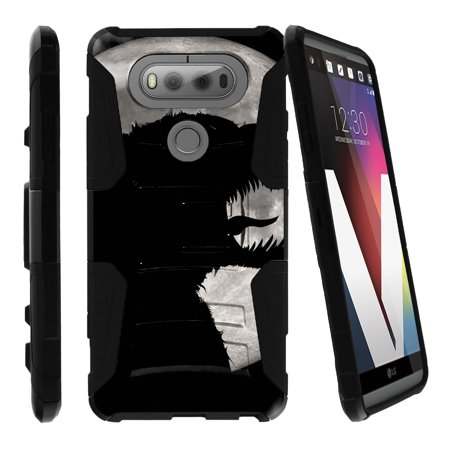 LG V20 Case   V20 Case Shell [Clip Armor]- Premium Defender Case Hard Shell Silicone Interior with Kickstand and Holster by Miniturtle® - Scary Dark Monster