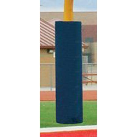 Football Post - First Team FT6040 Foam-Vinyl Post Pad for 4.5 in. Football Goalpost44; Maroon