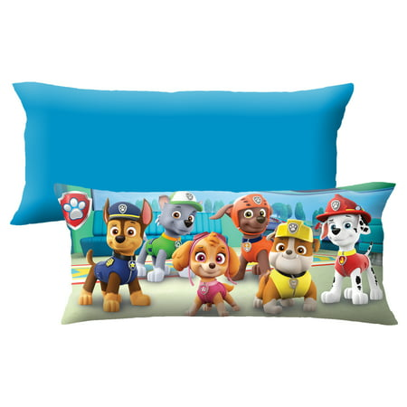 PAW Patrol Extra Large Body Pillow, Soft Plush Microfiber, 4-Feet Long