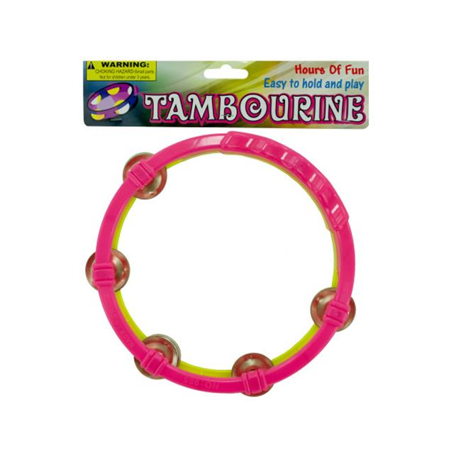 Bulk Buys SK035-72 Toy Tambourine by