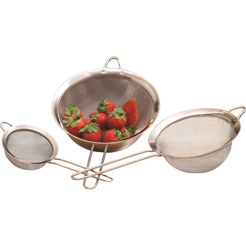 Click here to buy Cook Pro All Purpose 3 Piece Strainer Set by Overstock.