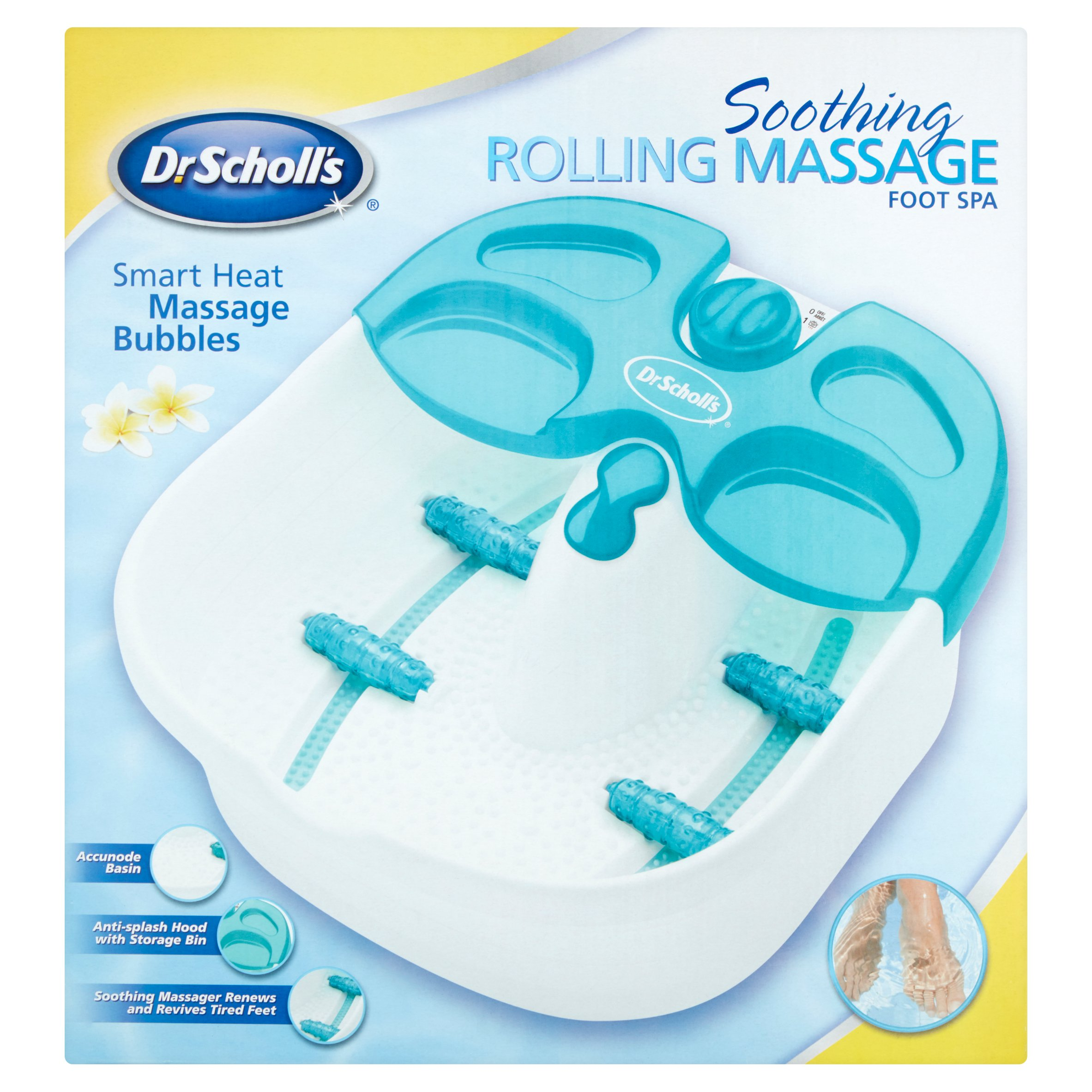 Dr Scholl's Soothing Rolling Massage Foot Spa