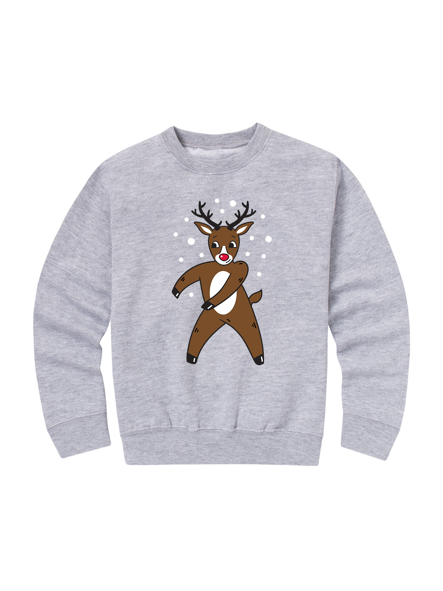 Floss Dance Reindeer - Toddler Crew Fleece