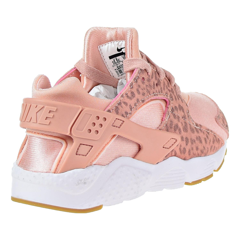 bef8442775b8 Nike - Nike Huarache Run SE Little Kids  Running Shoes Coral Stardust  Rust  Pink 859591-603 - Walmart.com