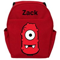 Personalized Yo Gabba Gabba! Muno Body Red Backpack