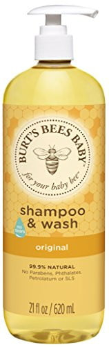 Burts Bees Baby Bee Shampoo and Body Wash Scented 21 oz by Burt%27s Bees
