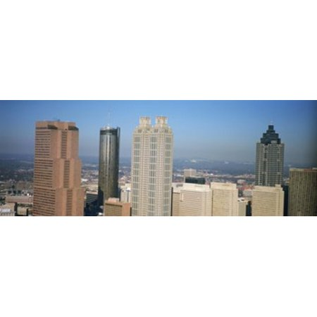 Skyscrapers in a city Atlanta Georgia USA Poster Print