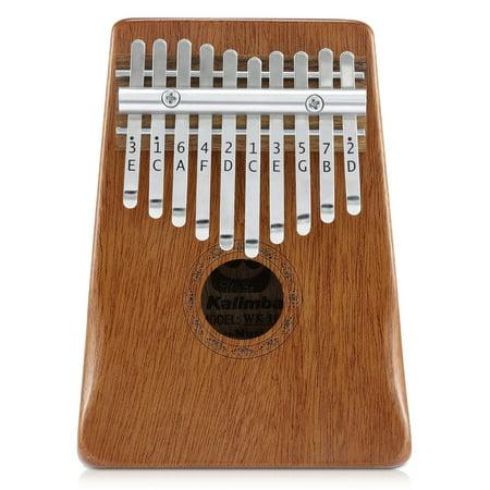 - Donner Kalimba Thumb Piano Solid Finger Piano Mahogany Body