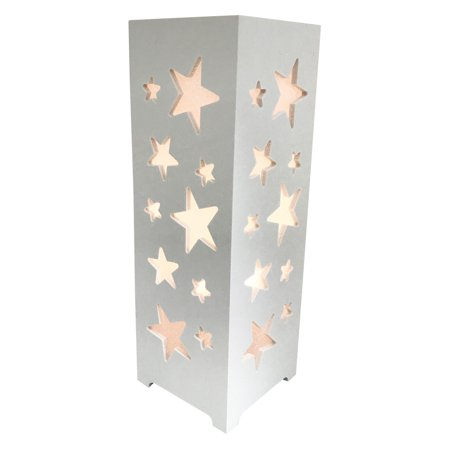 Novelty Kids Lighting - Desktop Battery-Operated LED Stars Lamp. Accent any room, Kids night light; Product Size: 4 x 11.75x 4. Sturdy plastic construct desk-top battery-operated home decor light.