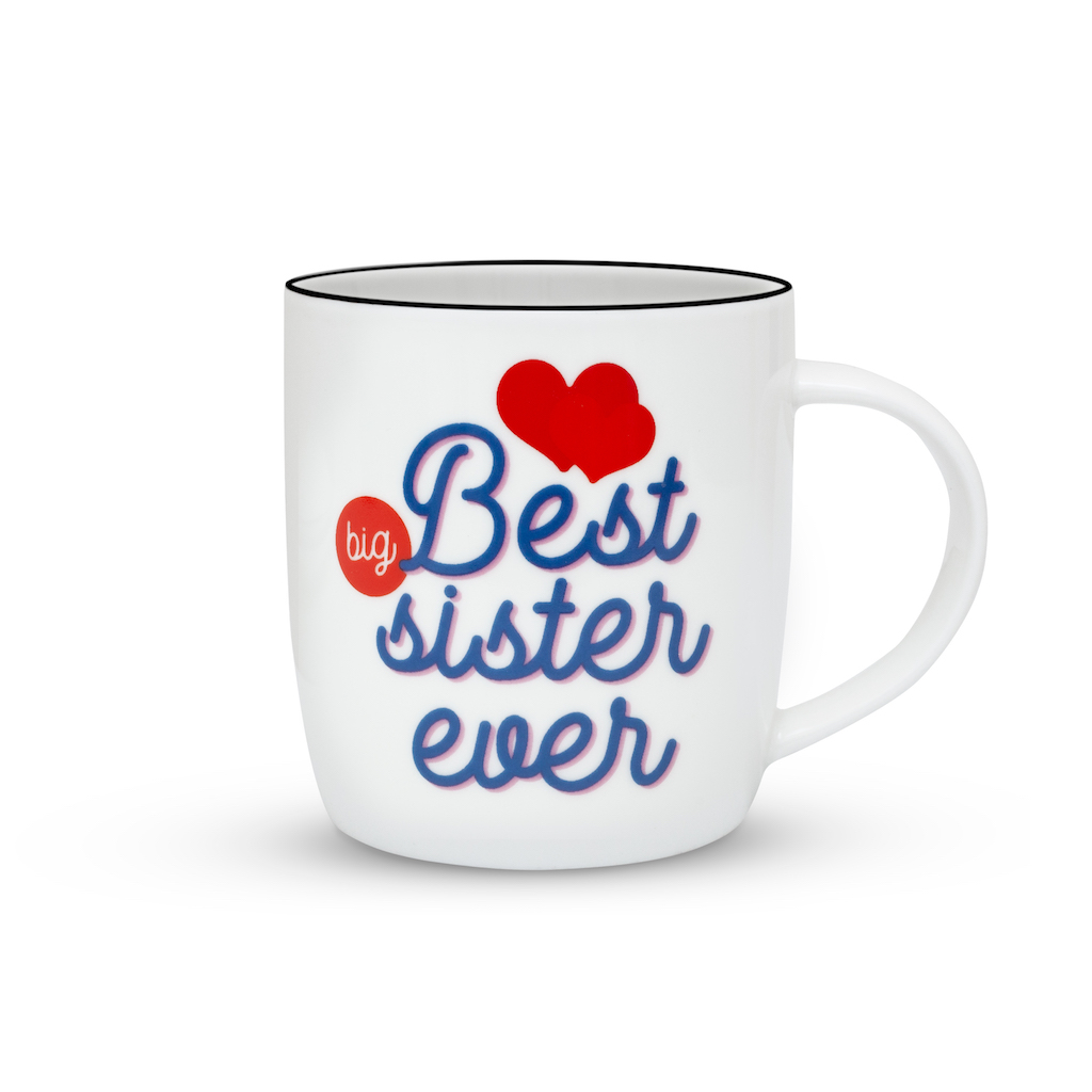 Janazala Best Big Sister Ever Mug Birthday Gift Idea For Sister