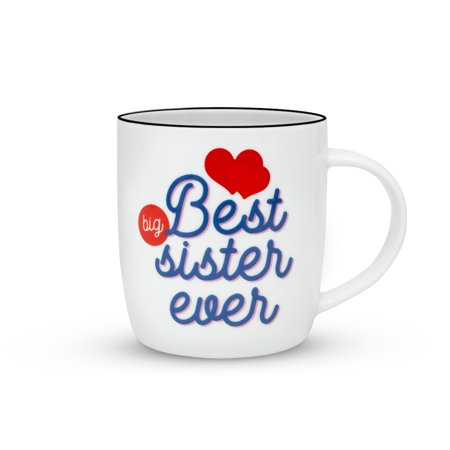 Janazala Best Big Sister Ever Mug Birthday Gift Idea For Christmas Gifts