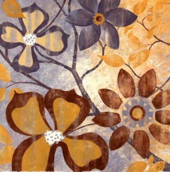 Enchanted Garden II Poster Print by Maria Donovan (12 x 12)