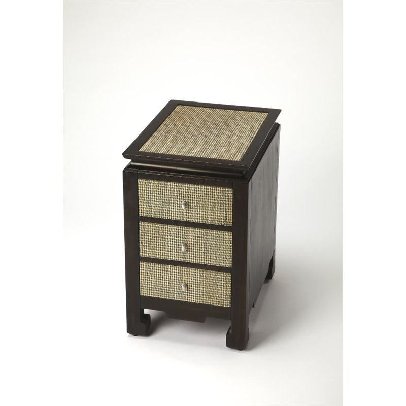 Butler Specialty Cosmopolitan Boracay End Table in Raffia - image 1 of 1