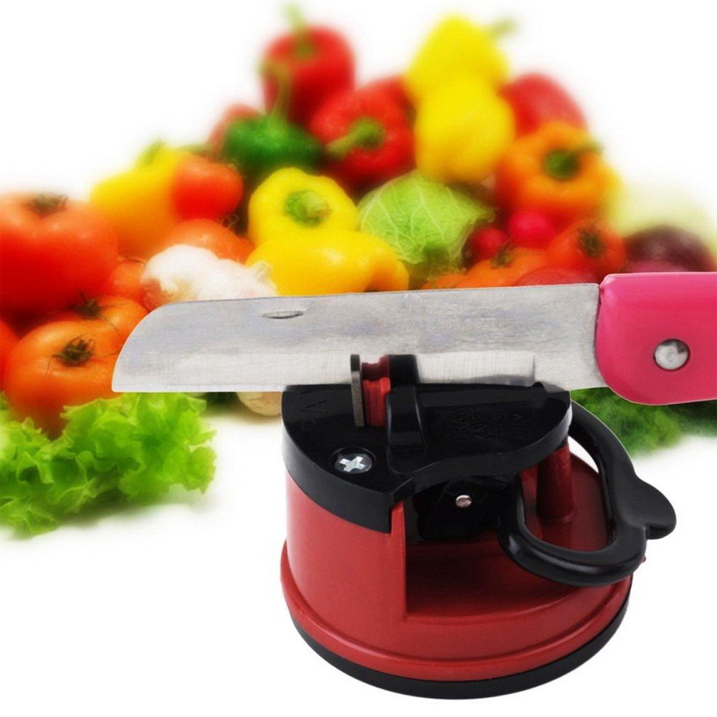 Knife Sharpener Scissors Grinder Secure Suction Chef Kitchen Sharpening Tool by Musiccrazy
