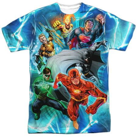 Jla - Lightning Team - Short Sleeve Shirt - Large