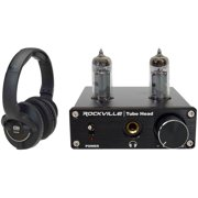 KRK KNS-8400 Professional Dynamic Studio Monitor Headphones+Tube Headphone Amp