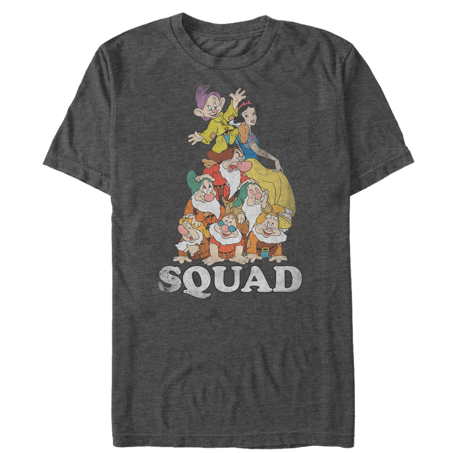 Snow White and the Seven Dwarves Men's Squad T-Shirt