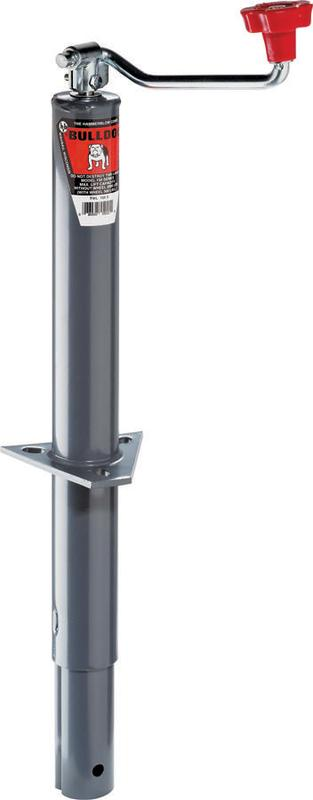 Reese Bulldog 1550220117 A-Frame Trailer Jack, 2000 lb, Gray by Reese
