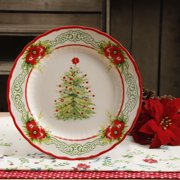 the pioneer woman garland 108 inch dinner plate - Christmas Plastic Plates