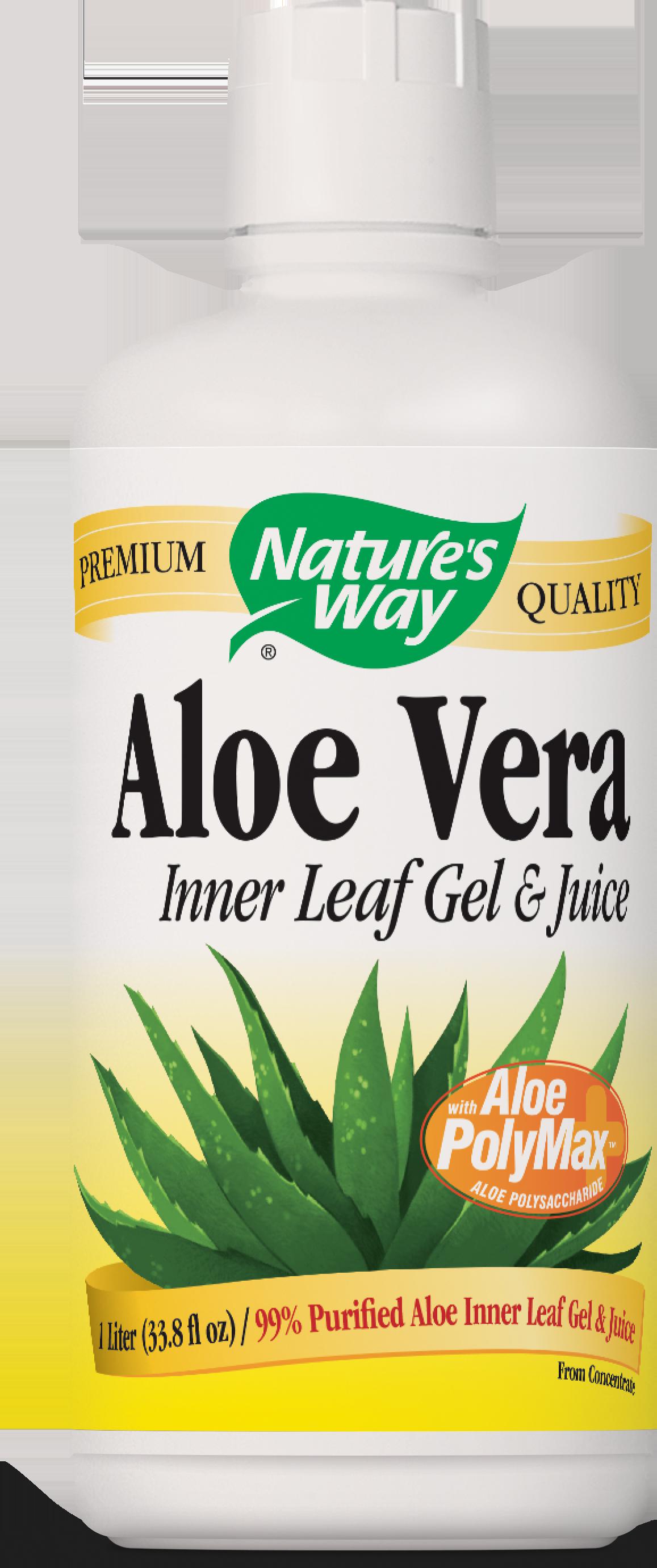 Nature's Way - Aloe Vera Gel & Juice Original - 1 Liter
