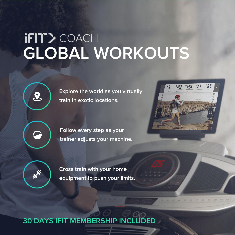 ProForm 505 CST Folding Treadmill, iFit Compatible - Walmart com