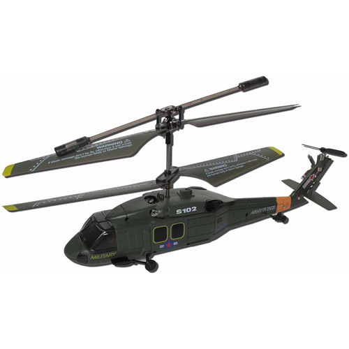 Syma S102G 3.5 Channel RC Night-Hawk Helicopter with Gyro