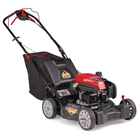 Troy-Bilt 300XP 21 in. 159 cc Gas Walk Behind Self Propelled Lawn Mower with Check Don't Change Oil, 3-in-1 TriAction Cutting System [Remanufactured]