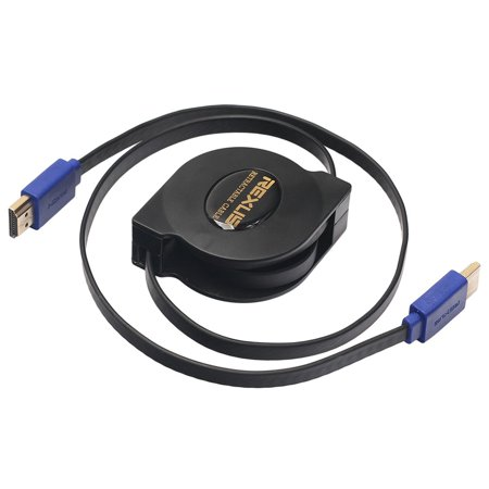 New Version 1.4 Supports 3d Copper Flat Retractable Hdmi Cable - image 6 of 10